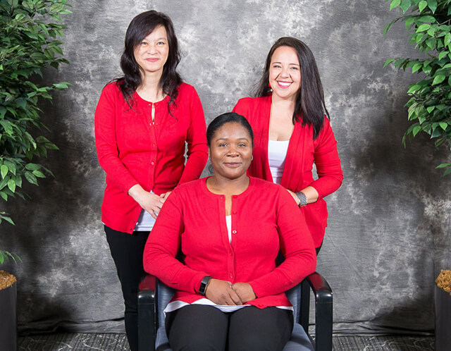 Northwestern Gynecologist Chicago - Billing Specialists. Alexandra, Judy, Marian and Evelyn