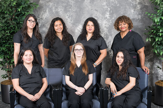 Northwestern Gynecologist Chicago - Clinical Staff. Brittney, Christin, Evelin, Jacquiline, Linda, Marisol and Mayra